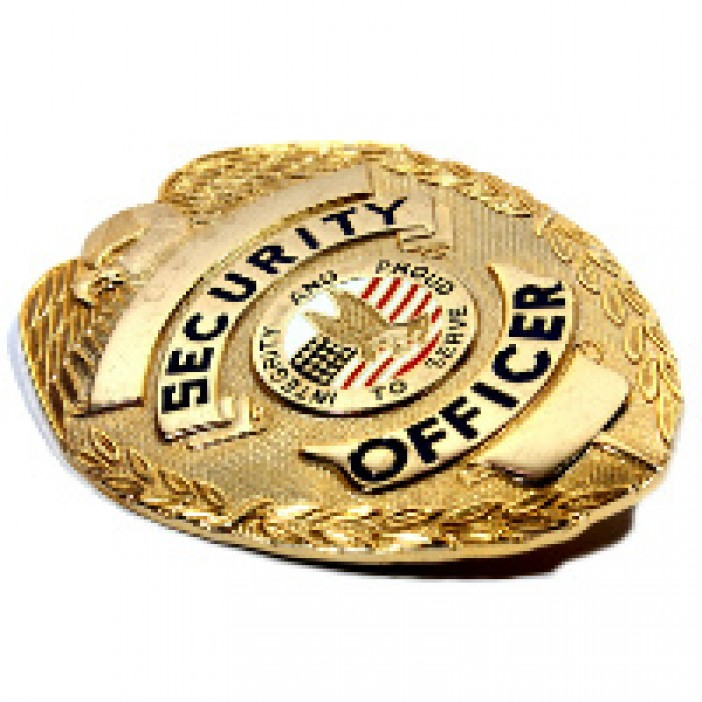 Professional Protection Specialists Security Officer Badge